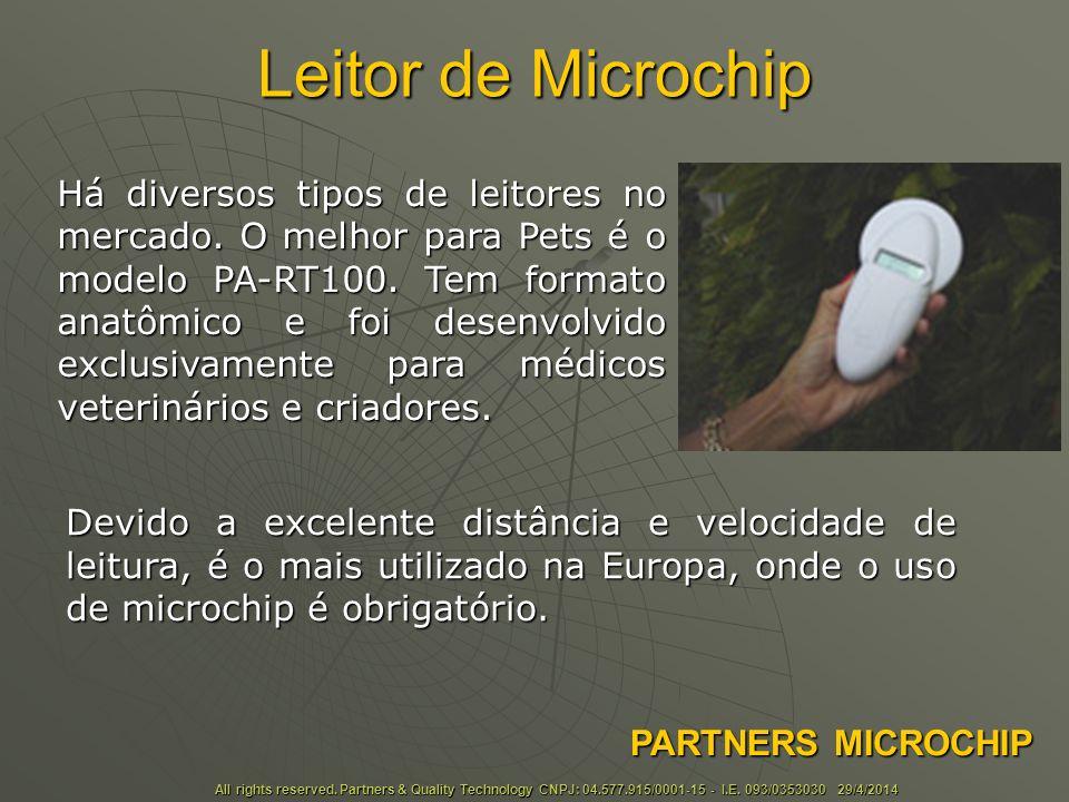Leitor de Microchip