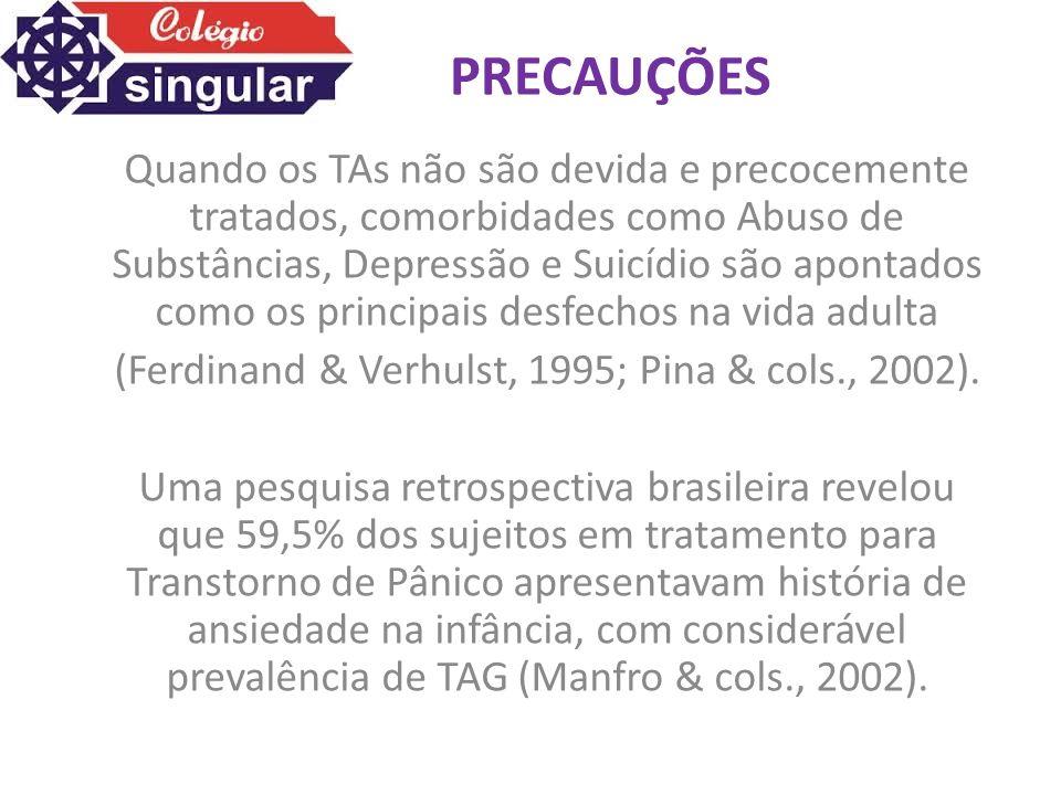 (Ferdinand & Verhulst, 1995; Pina & cols., 2002).