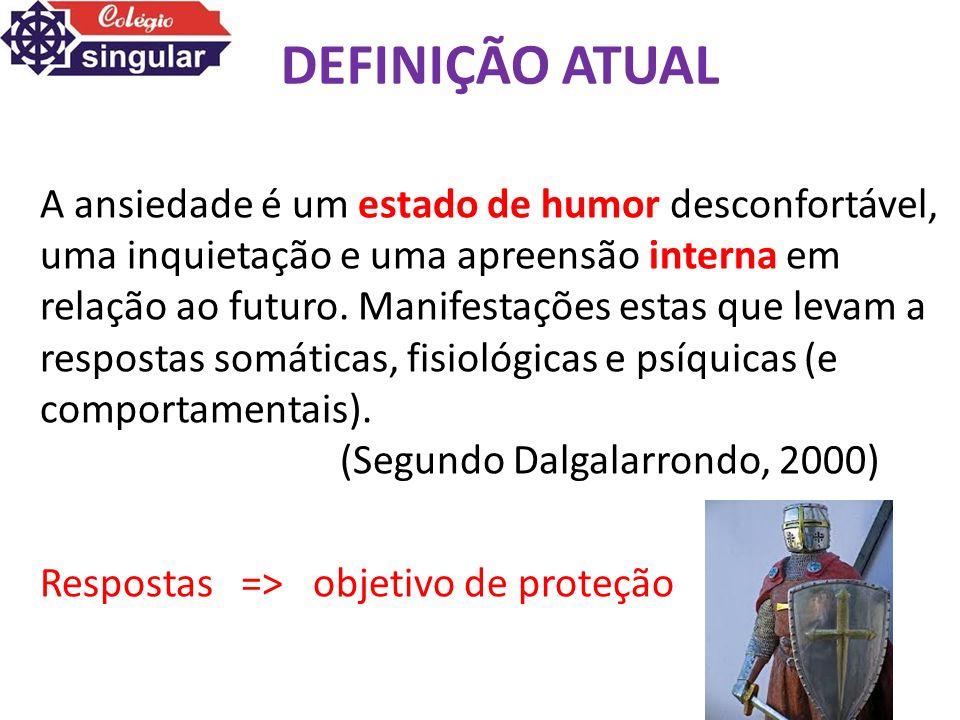 DEFINIÇÃO ATUAL