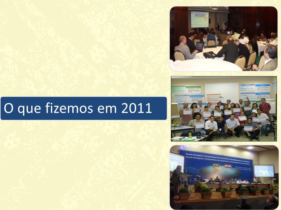 O que fizemos em 2011