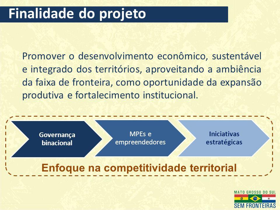 Governança binacional Iniciativas estratégicas