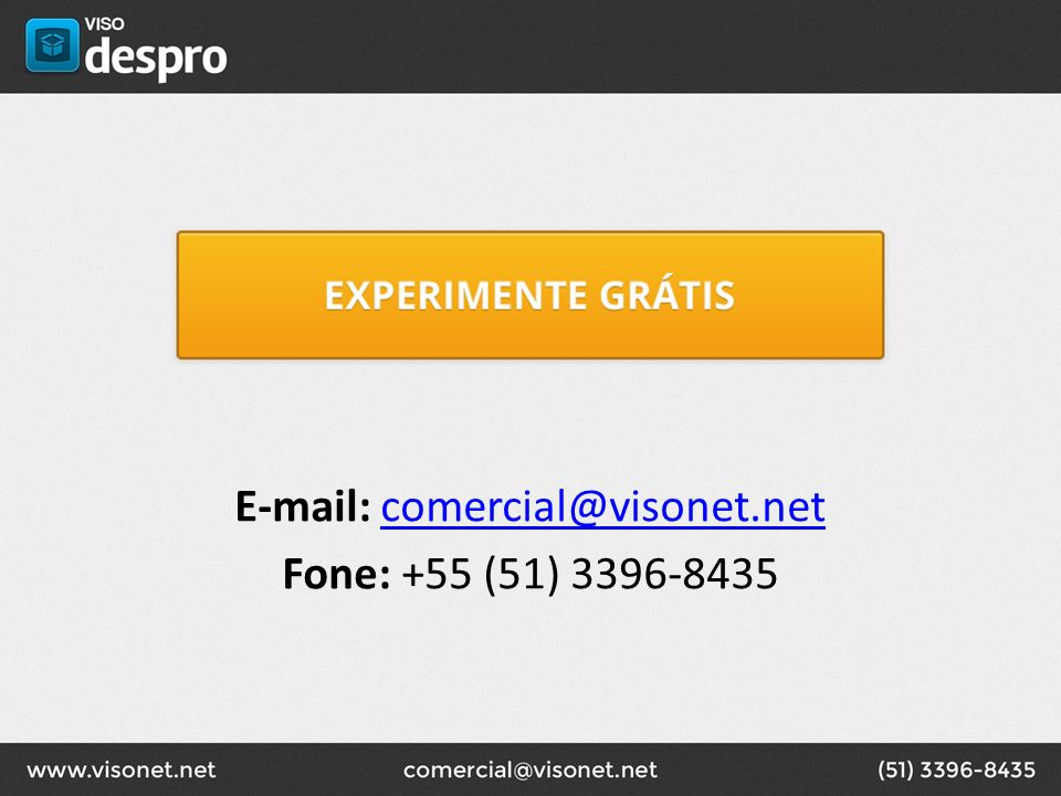 E-mail: comercial@visonet.net