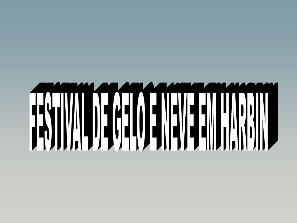 FESTIVAL DE GELO E NEVE EM HARBIN