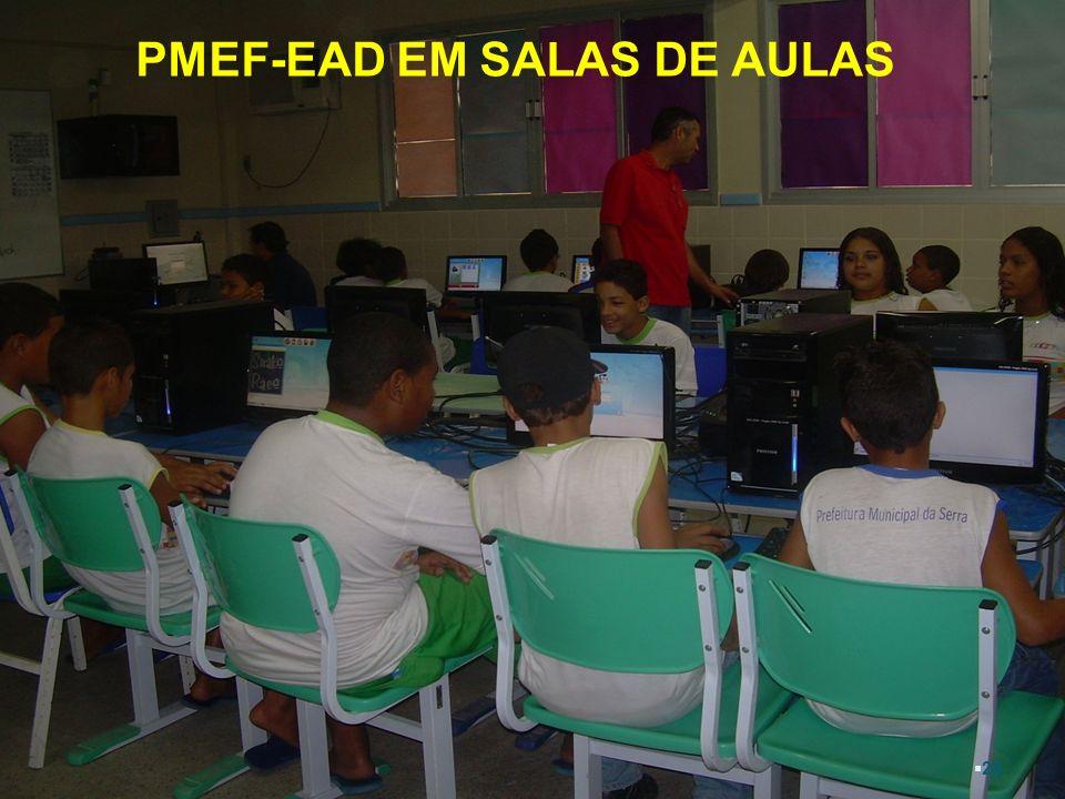 PMEF-EAD EM SALAS DE AULAS