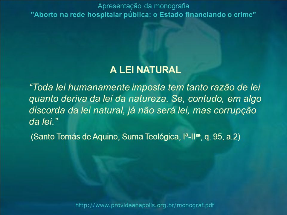 A LEI NATURAL