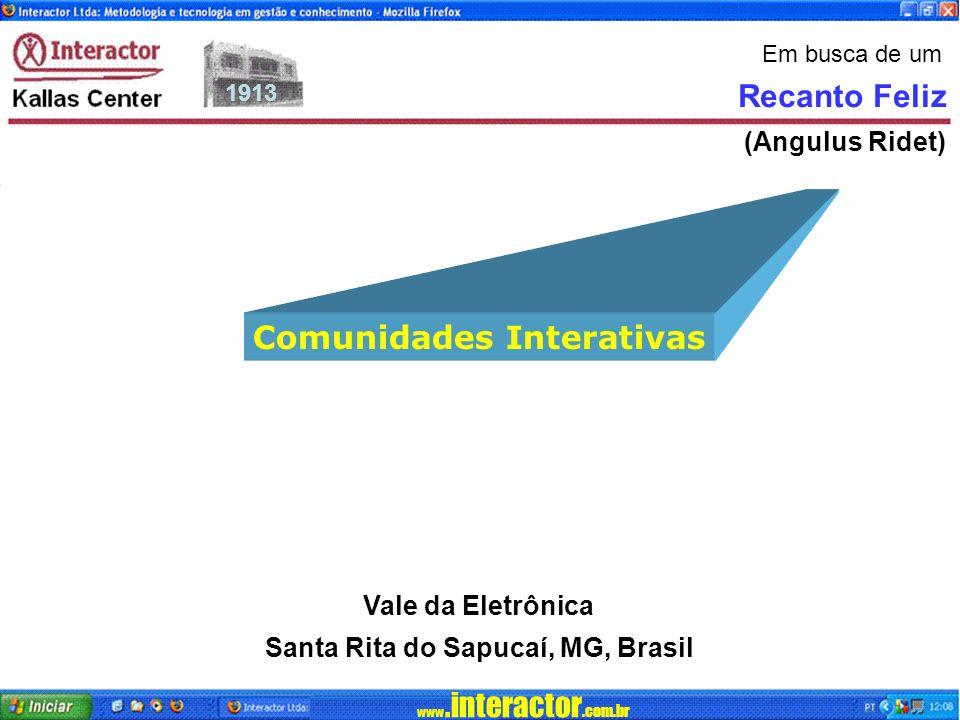 Comunidades Interativas Santa Rita do Sapucaí, MG, Brasil