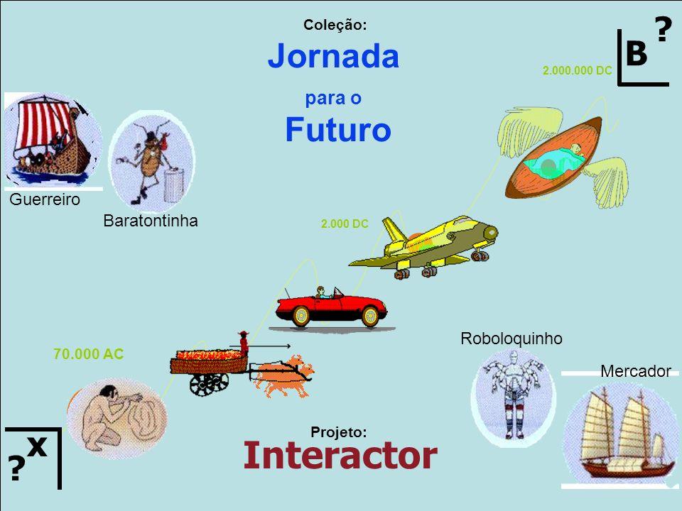 Interactor B Jornada Futuro x para o Guerreiro Baratontinha