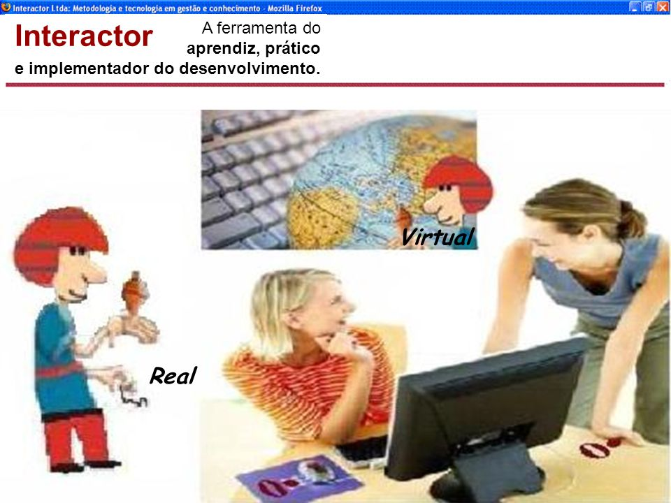 Interactor Virtual Real A ferramenta do aprendiz, prático