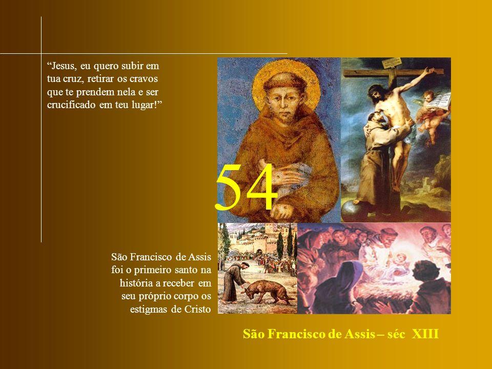 54 São Francisco de Assis – séc XIII