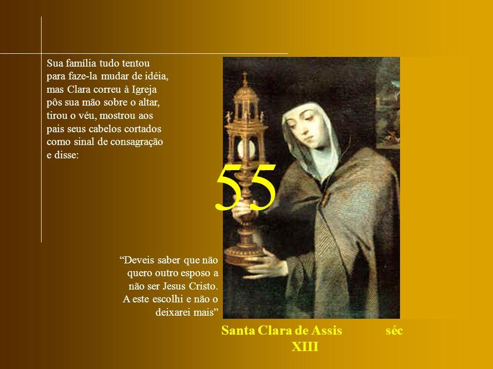 Santa Clara de Assis séc XIII