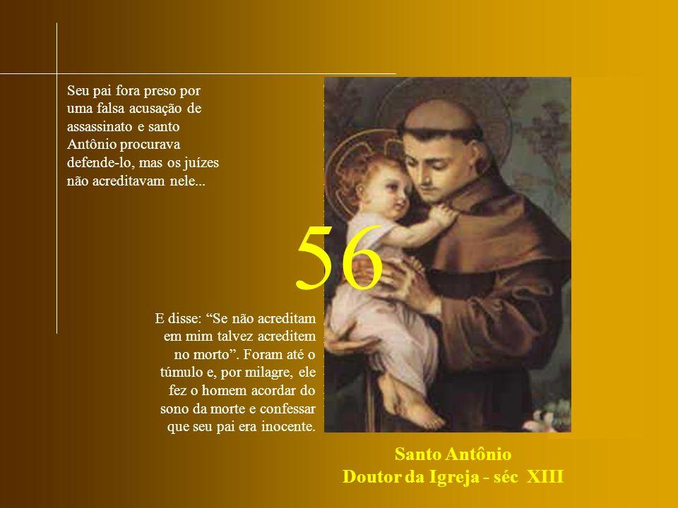 Santo Antônio Doutor da Igreja - séc XIII
