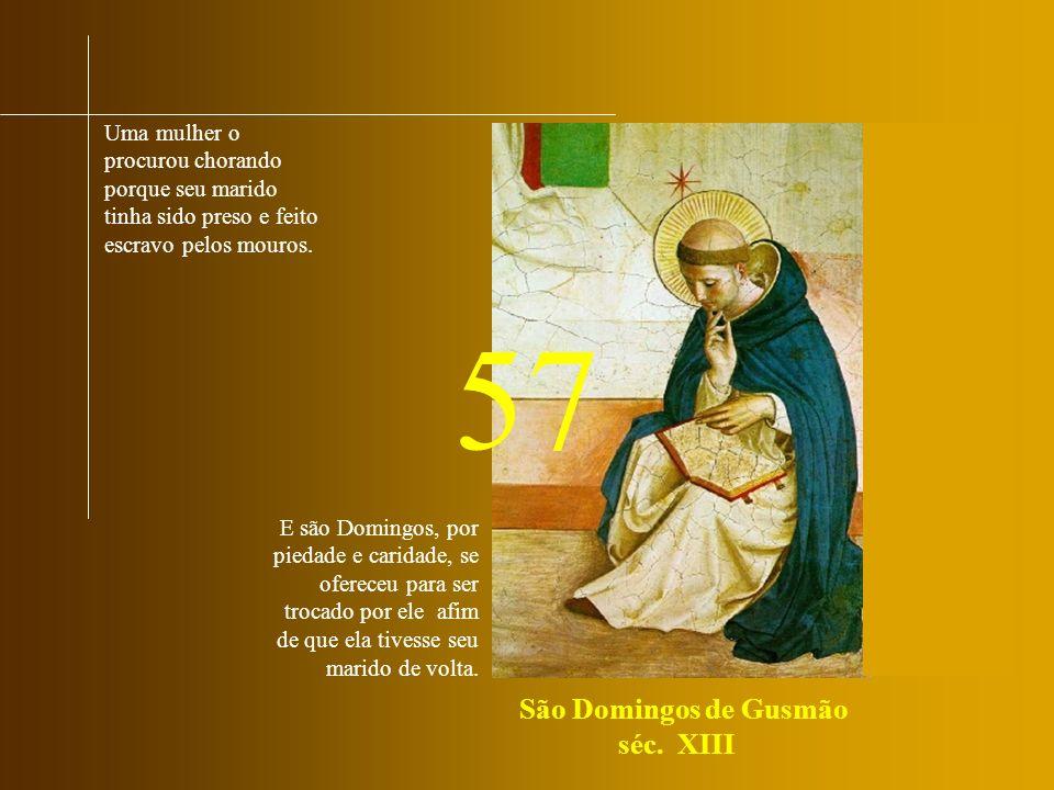 São Domingos de Gusmão séc. XIII