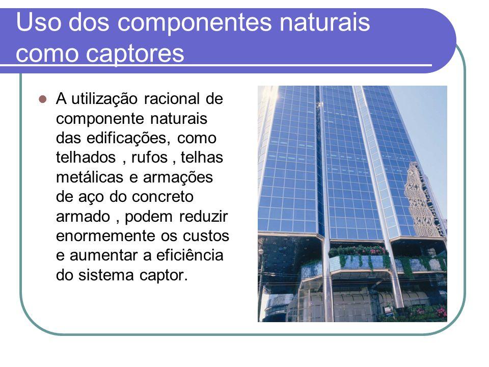 Uso dos componentes naturais como captores