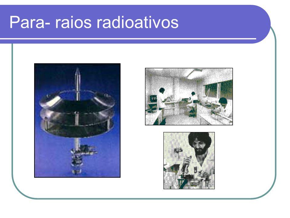 Para- raios radioativos