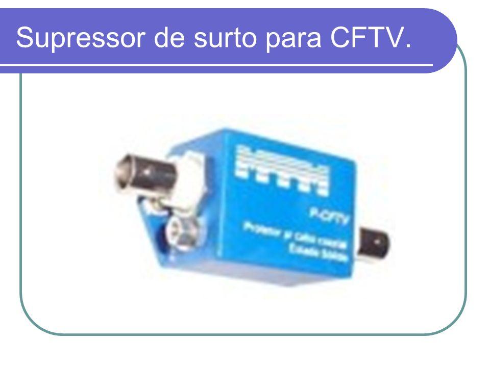 Supressor de surto para CFTV.