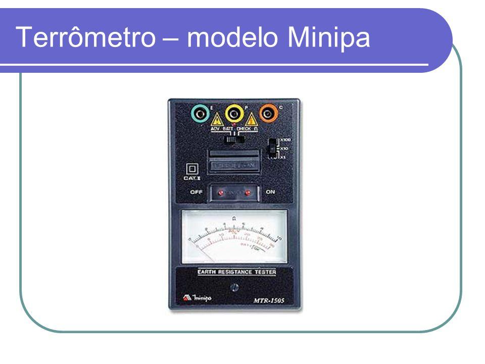 Terrômetro – modelo Minipa