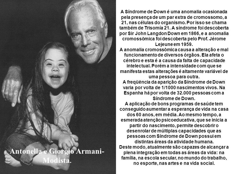 Antonella e Giorgio Armani-Modista.