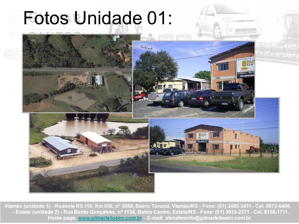 Fotos Unidade 01: