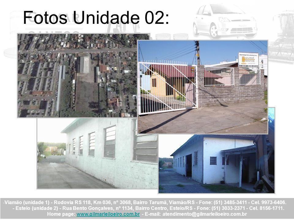 Fotos Unidade 02: