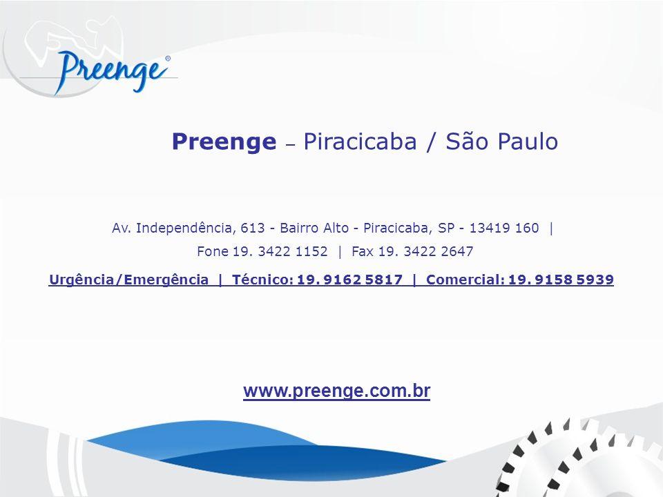 Av. Independência, 613 - Bairro Alto - Piracicaba, SP - 13419 160 |