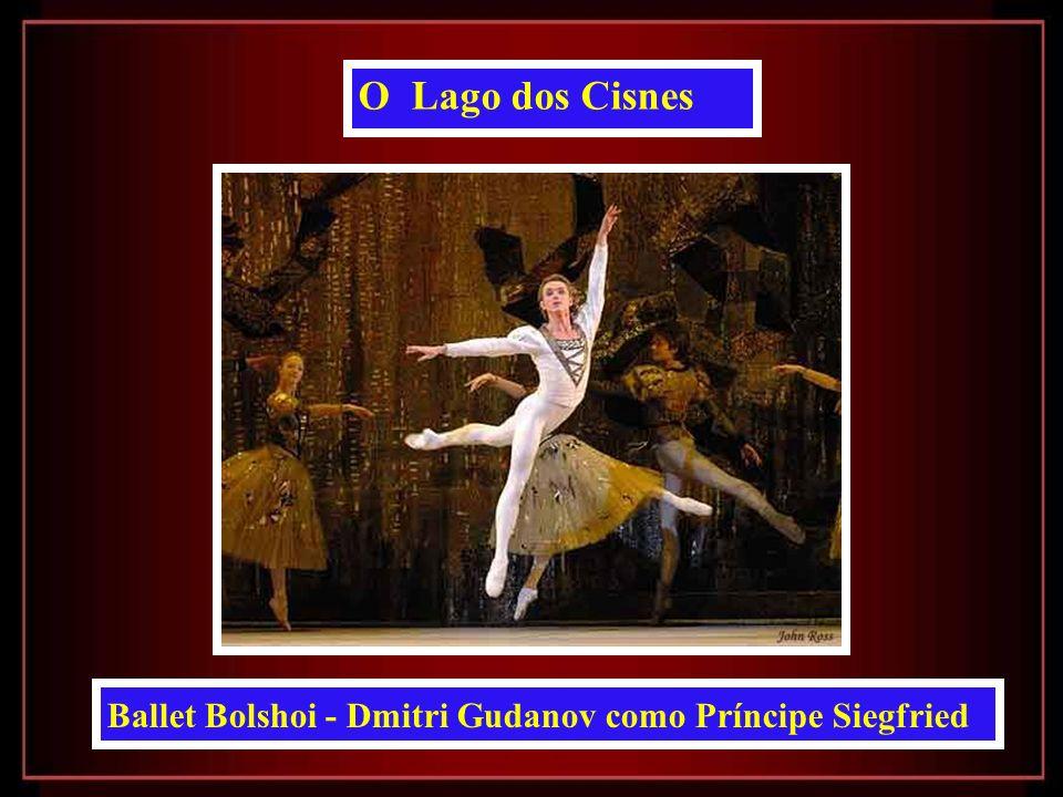 O Lago dos Cisnes Ballet Bolshoi - Dmitri Gudanov como Príncipe Siegfried