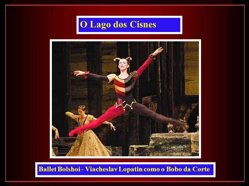 O Lago dos Cisnes Ballet Bolshoi - Viacheslav Lopatin como o Bobo da Corte