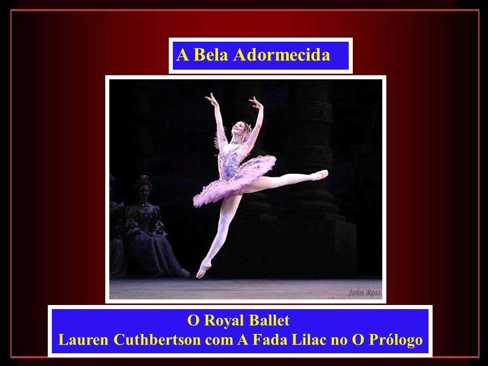 Lauren Cuthbertson com A Fada Lilac no O Prólogo