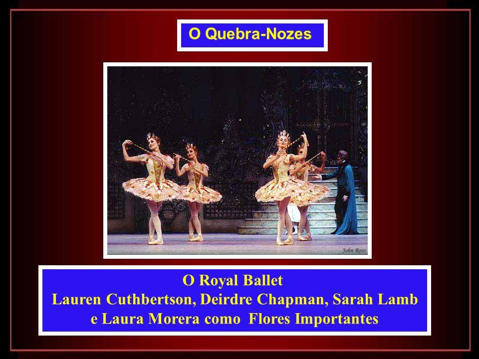 Lauren Cuthbertson, Deirdre Chapman, Sarah Lamb