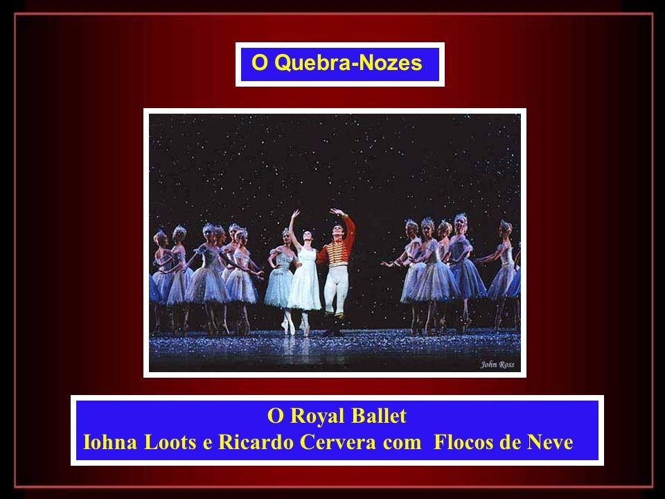 Iohna Loots e Ricardo Cervera com Flocos de Neve