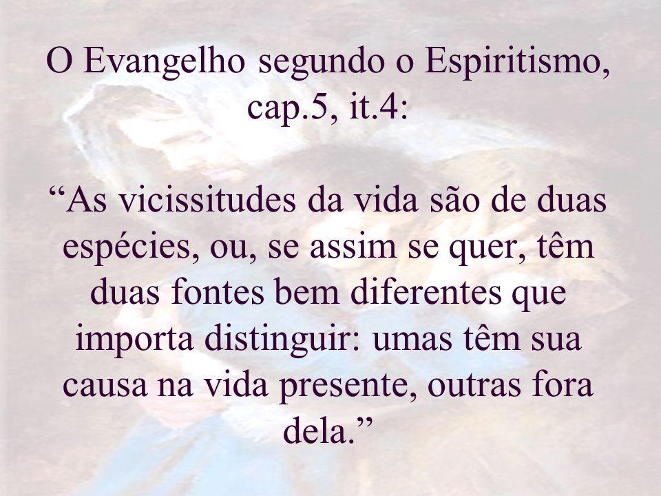 O Evangelho segundo o Espiritismo, cap. 5, it
