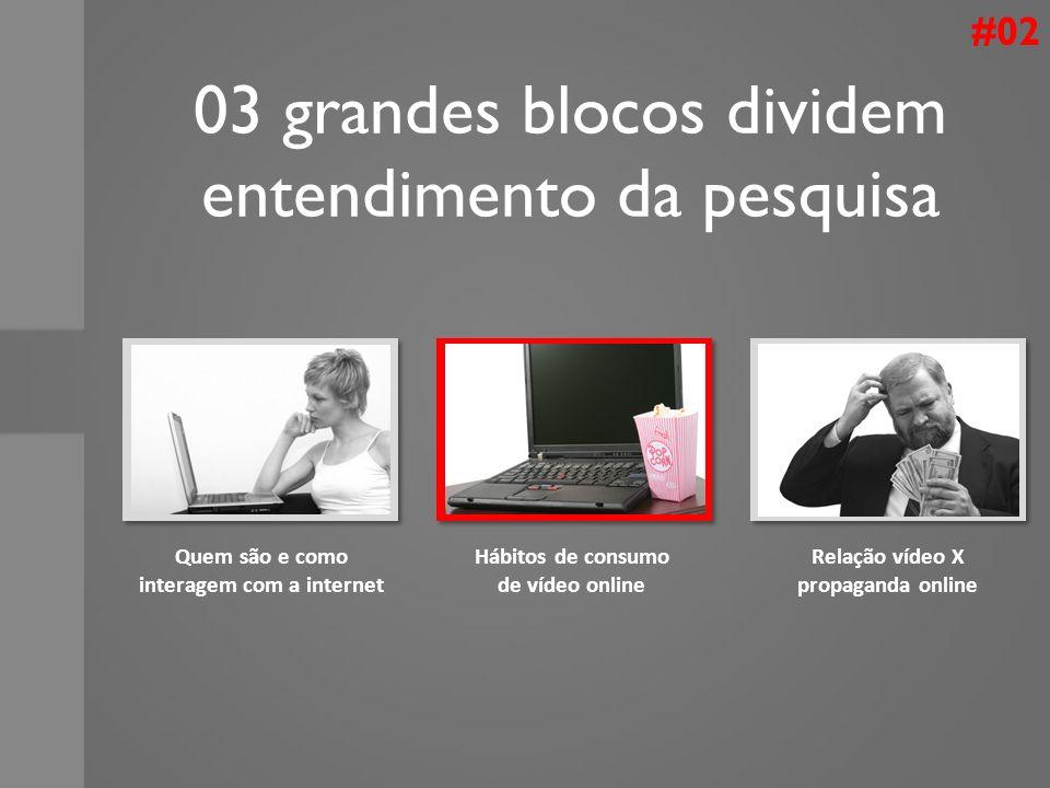 03 grandes blocos dividem entendimento da pesquisa