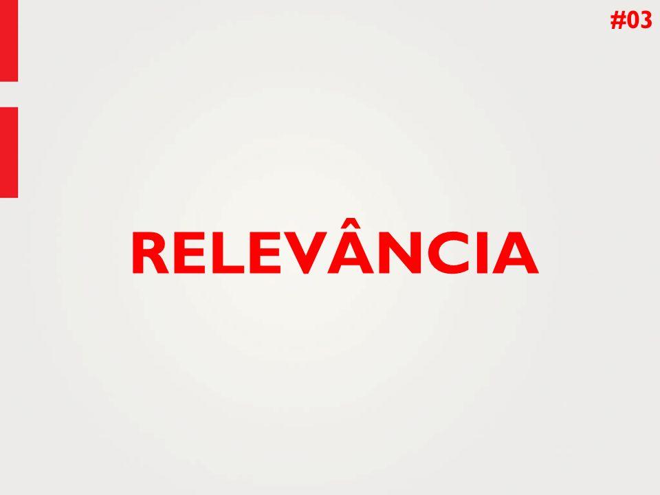 #03 RELEVÂNCIA
