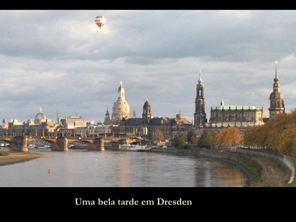 Uma bela tarde em Dresden