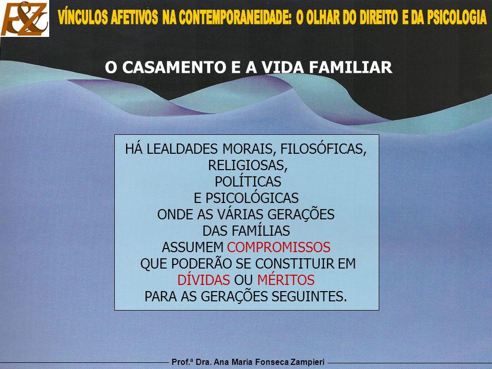 O CASAMENTO E A VIDA FAMILIAR