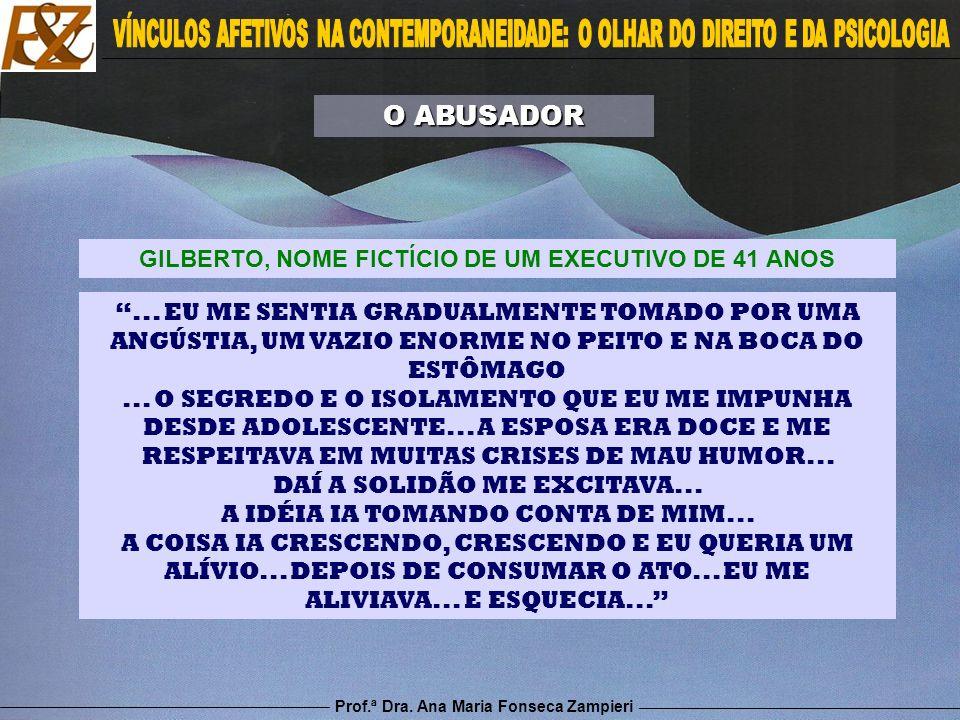 GILBERTO, NOME FICTÍCIO DE UM EXECUTIVO DE 41 ANOS