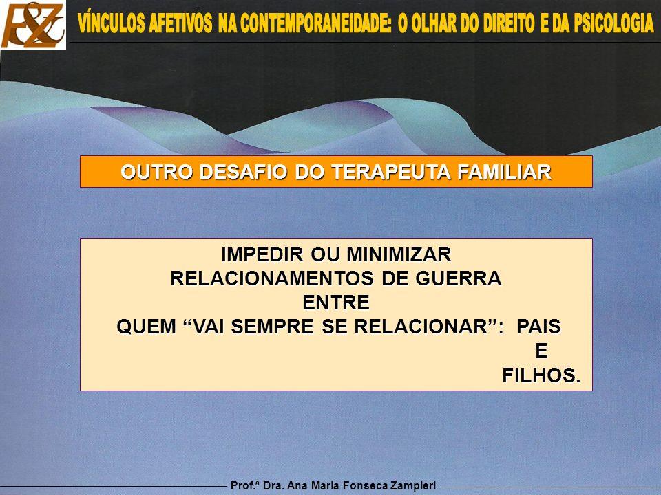 OUTRO DESAFIO DO TERAPEUTA FAMILIAR