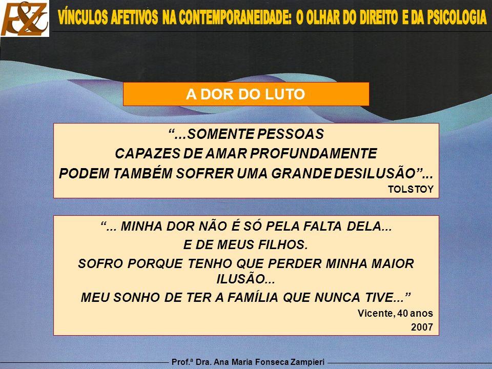 A DOR DO LUTO ...SOMENTE PESSOAS CAPAZES DE AMAR PROFUNDAMENTE