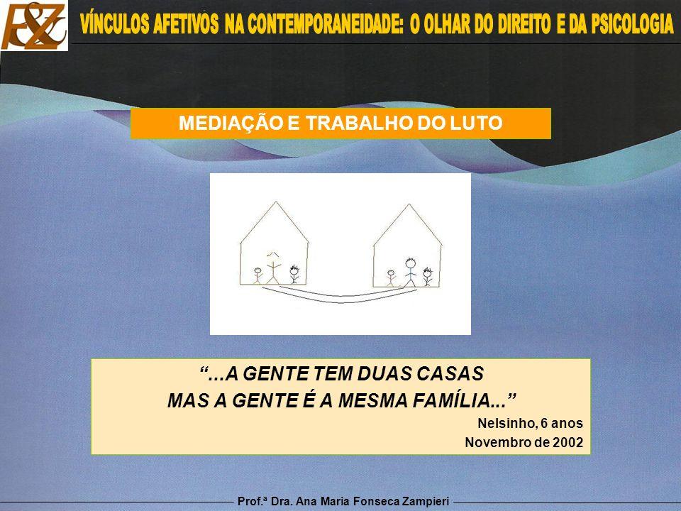MEDIAÇÃO E TRABALHO DO LUTO MAS A GENTE É A MESMA FAMÍLIA...