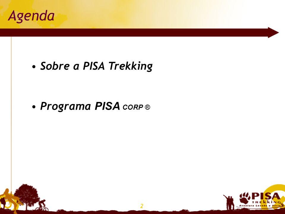 Agenda Sobre a PISA Trekking Programa PISA CORP ®