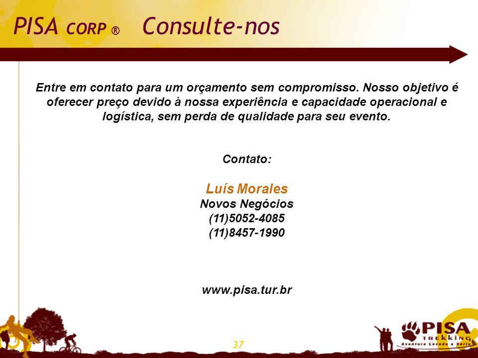 PISA CORP ® Consulte-nos