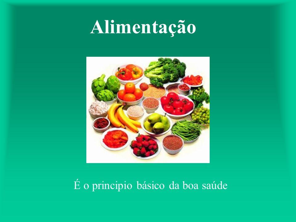 É o principio básico da boa saúde