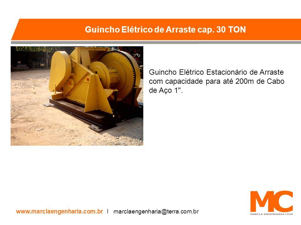 Guincho Elétrico de Arraste cap. 30 TON