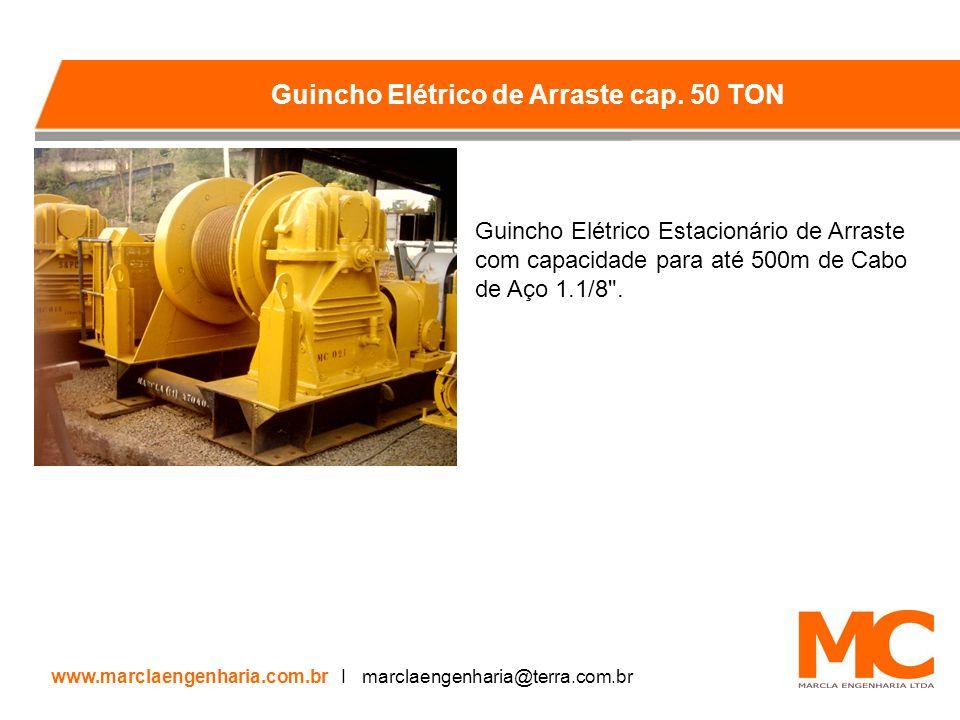 Guincho Elétrico de Arraste cap. 50 TON