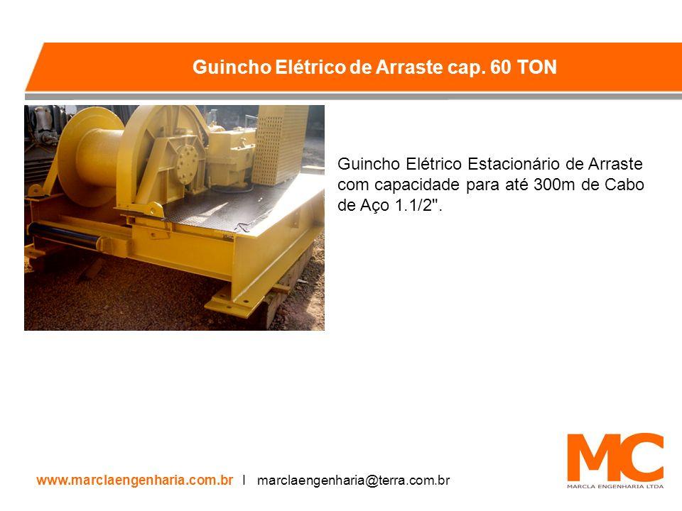 Guincho Elétrico de Arraste cap. 60 TON