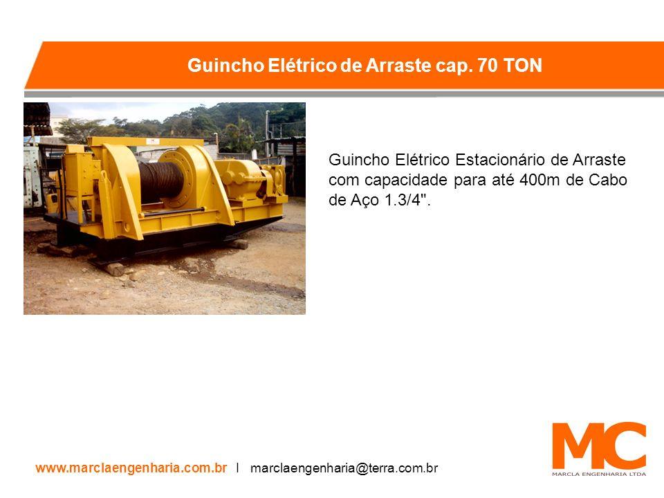 Guincho Elétrico de Arraste cap. 70 TON