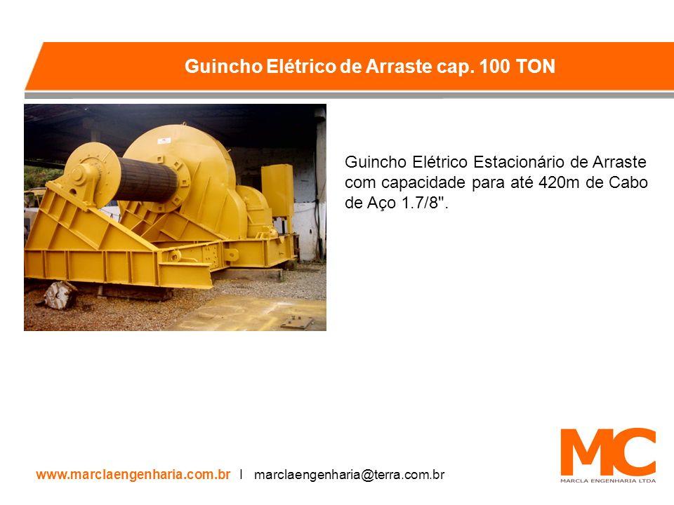 Guincho Elétrico de Arraste cap. 100 TON