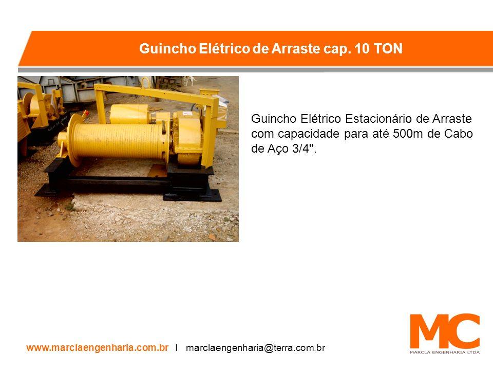 Guincho Elétrico de Arraste cap. 10 TON