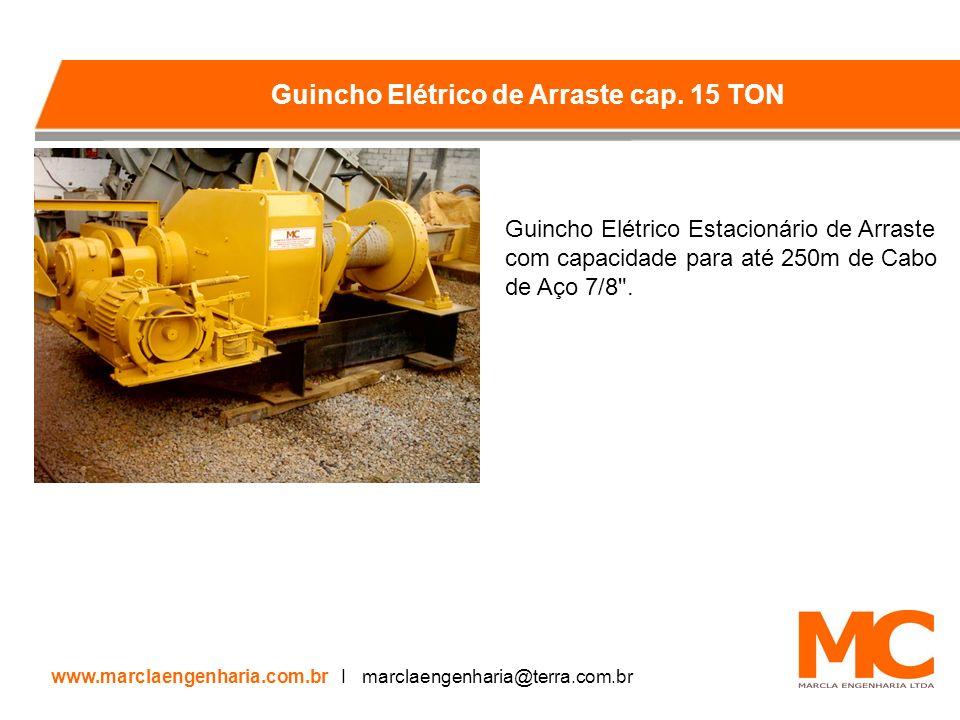 Guincho Elétrico de Arraste cap. 15 TON