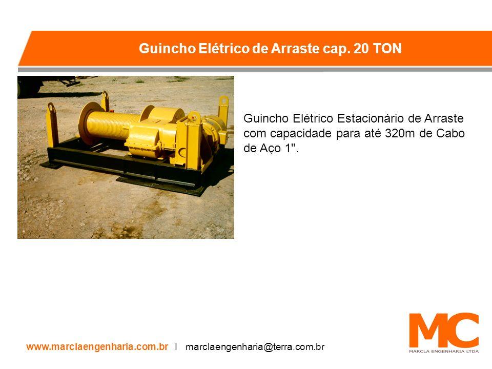 Guincho Elétrico de Arraste cap. 20 TON