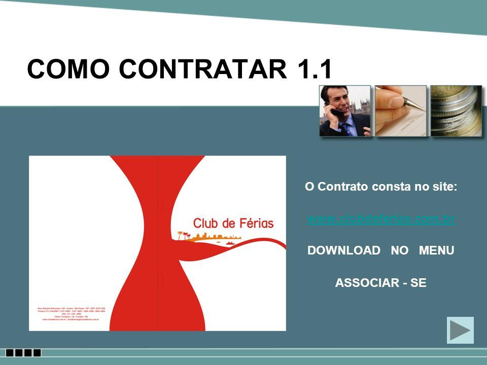 O Contrato consta no site:
